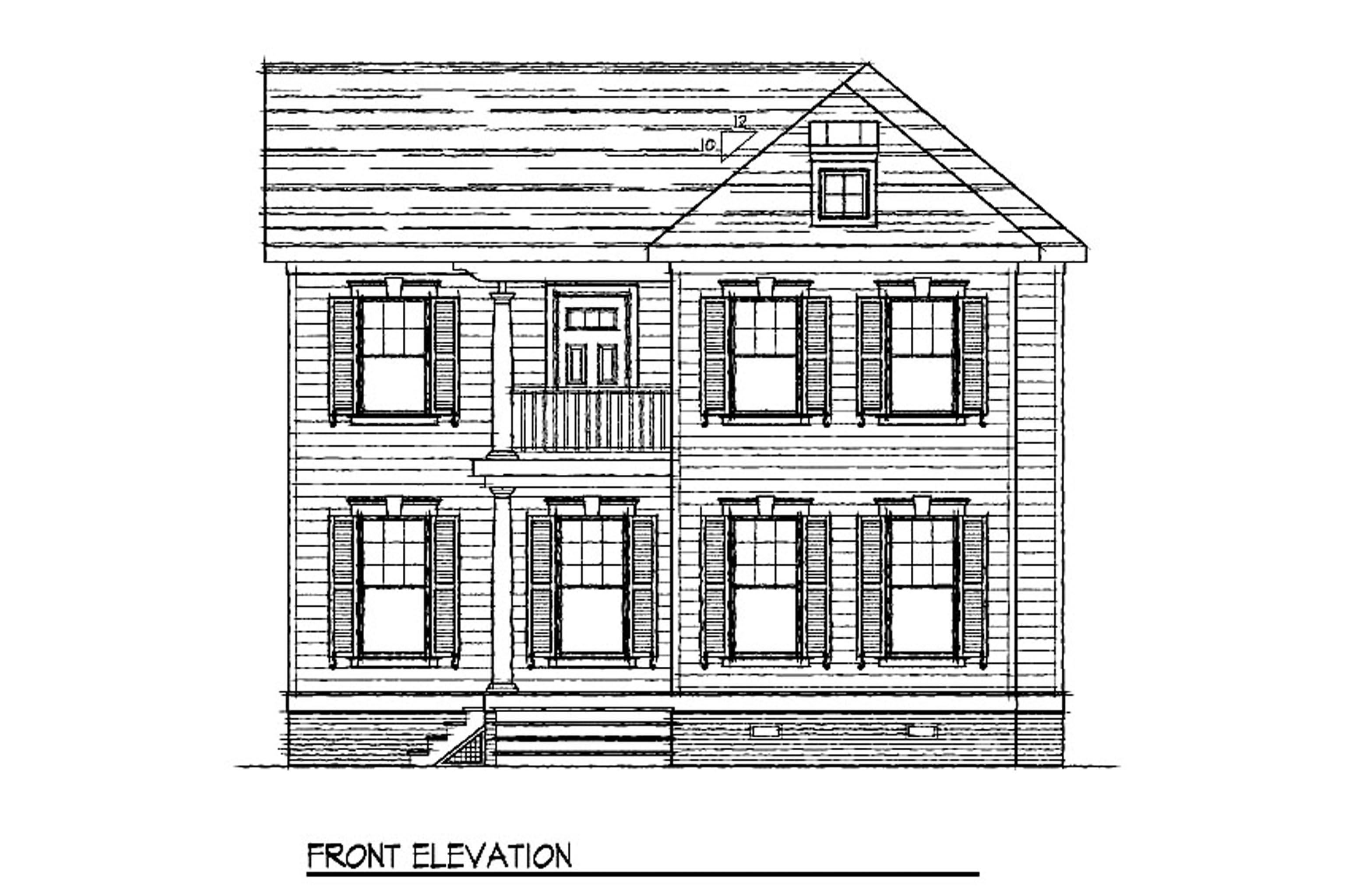 House Plan 116 - Melrose