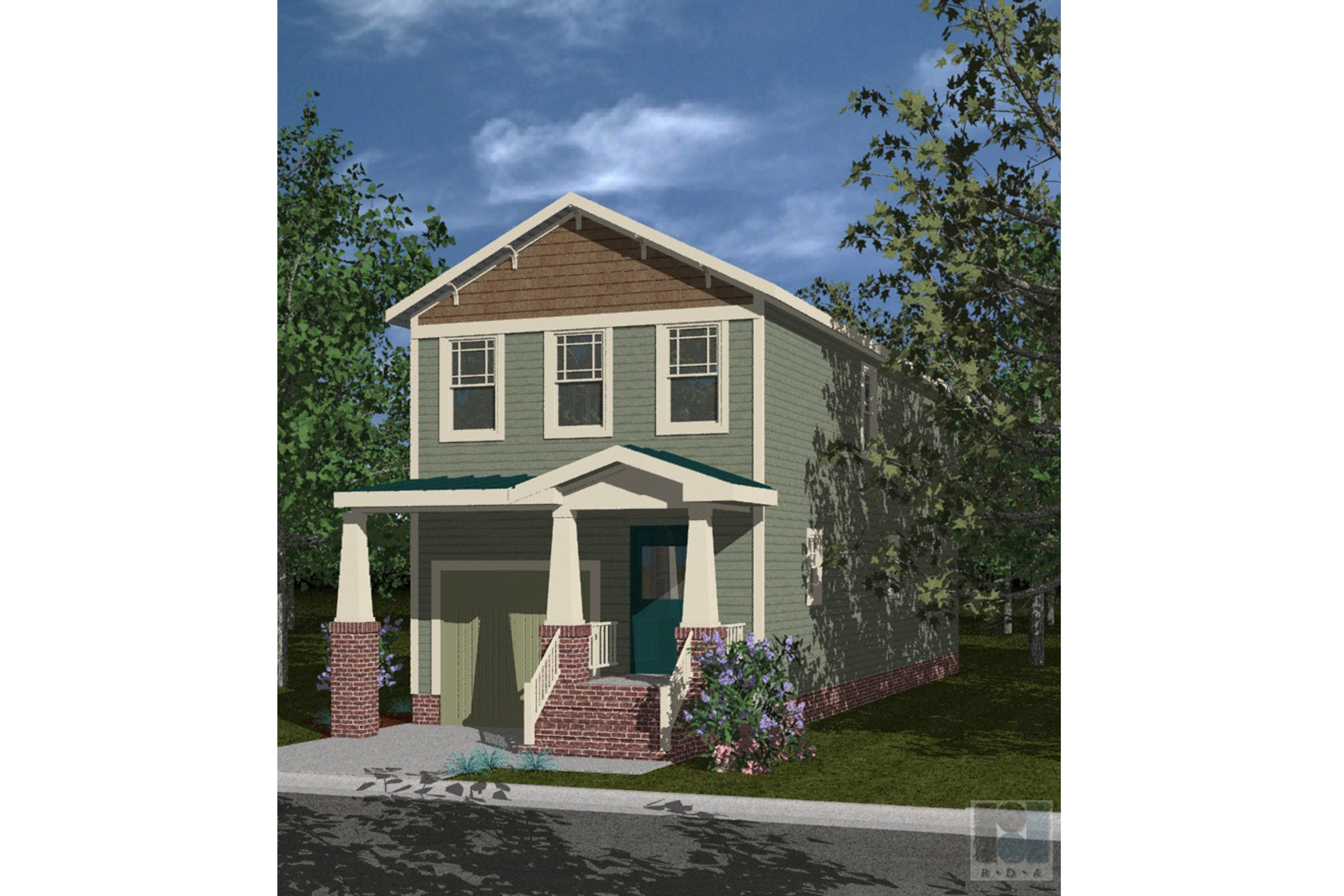 House Plan 162 - The Onley 3