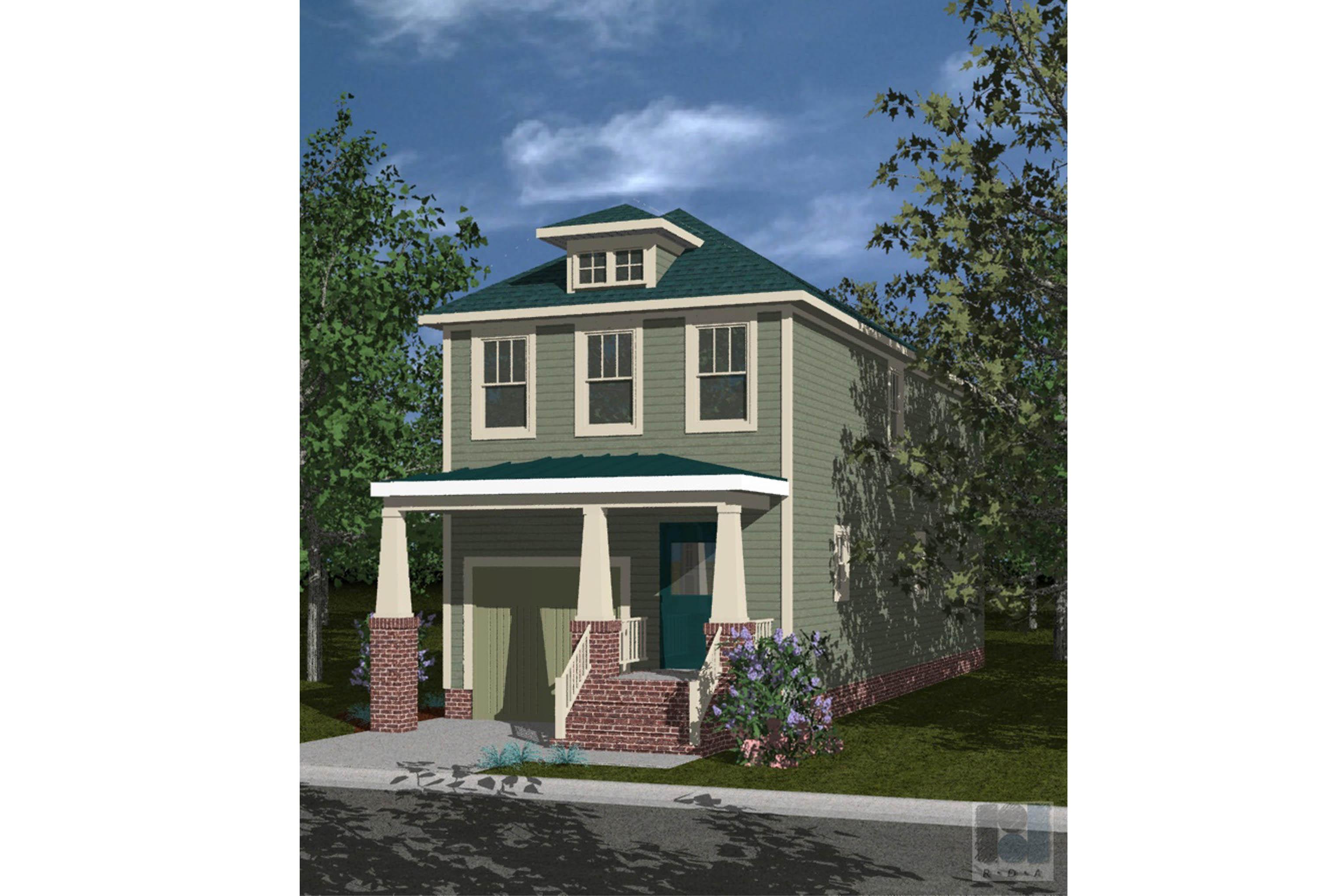 House Plan 163 - Redgate 3