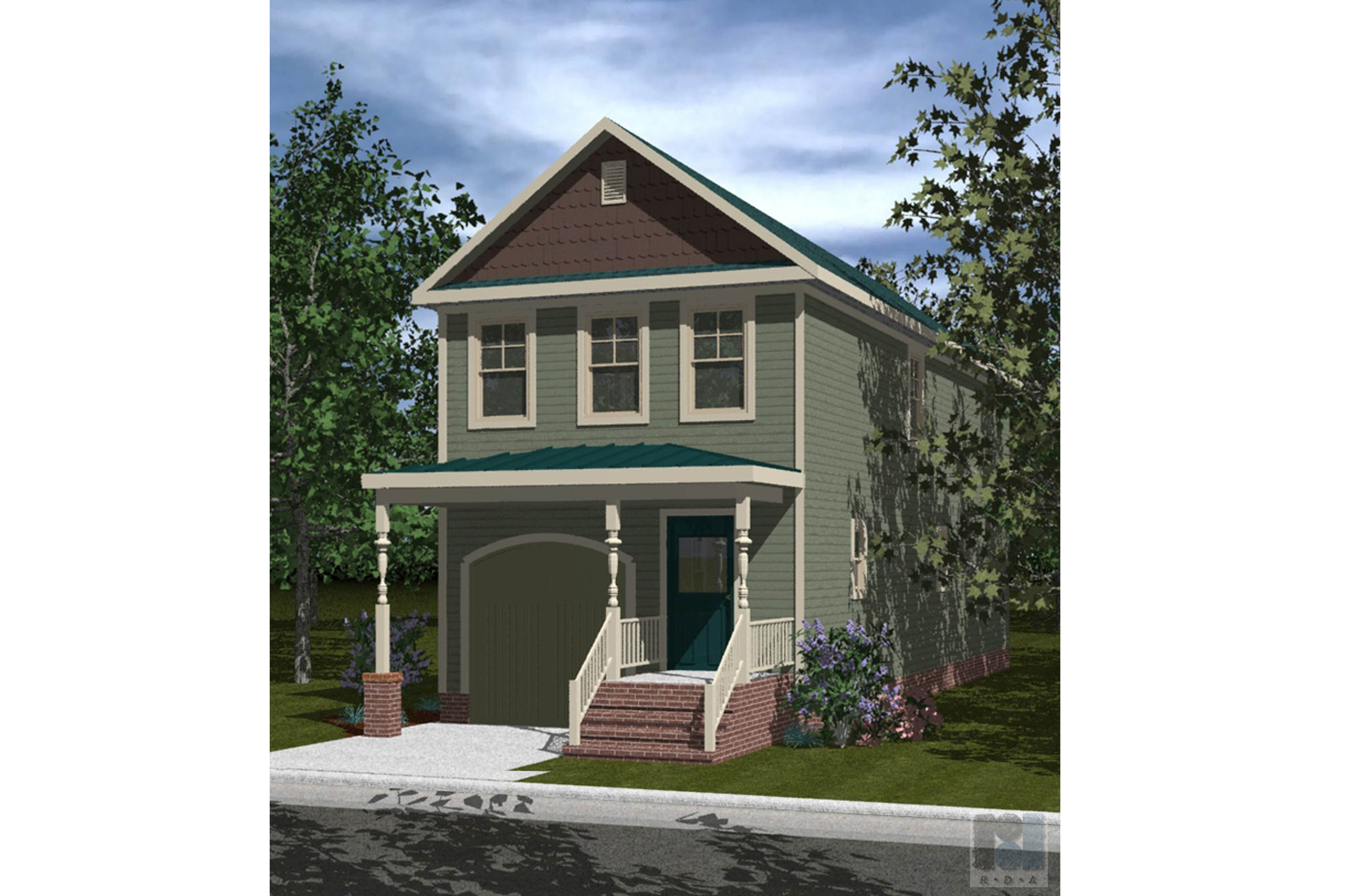 House Plan 165 - Westover 3