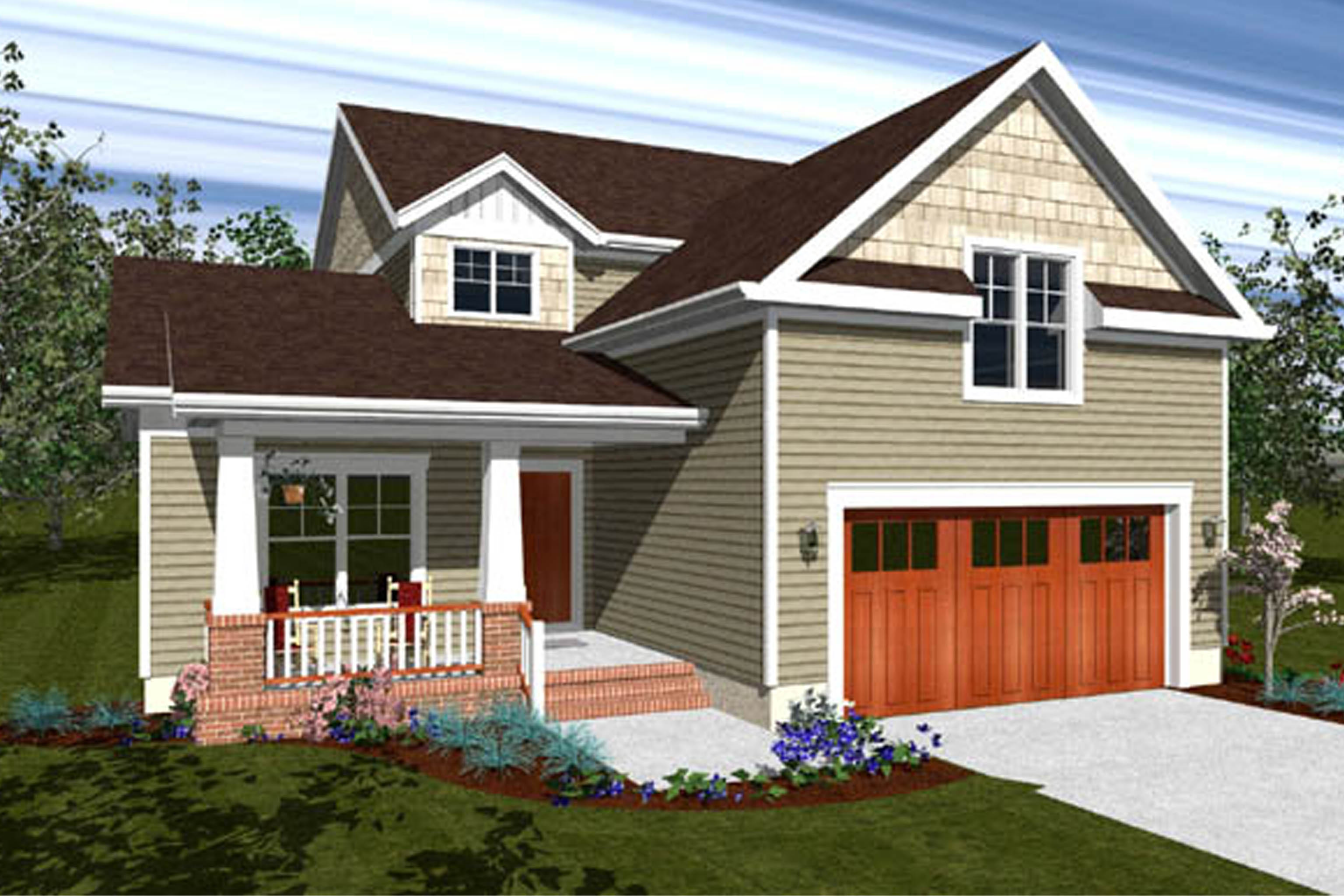 House Plan 171 - Stickley