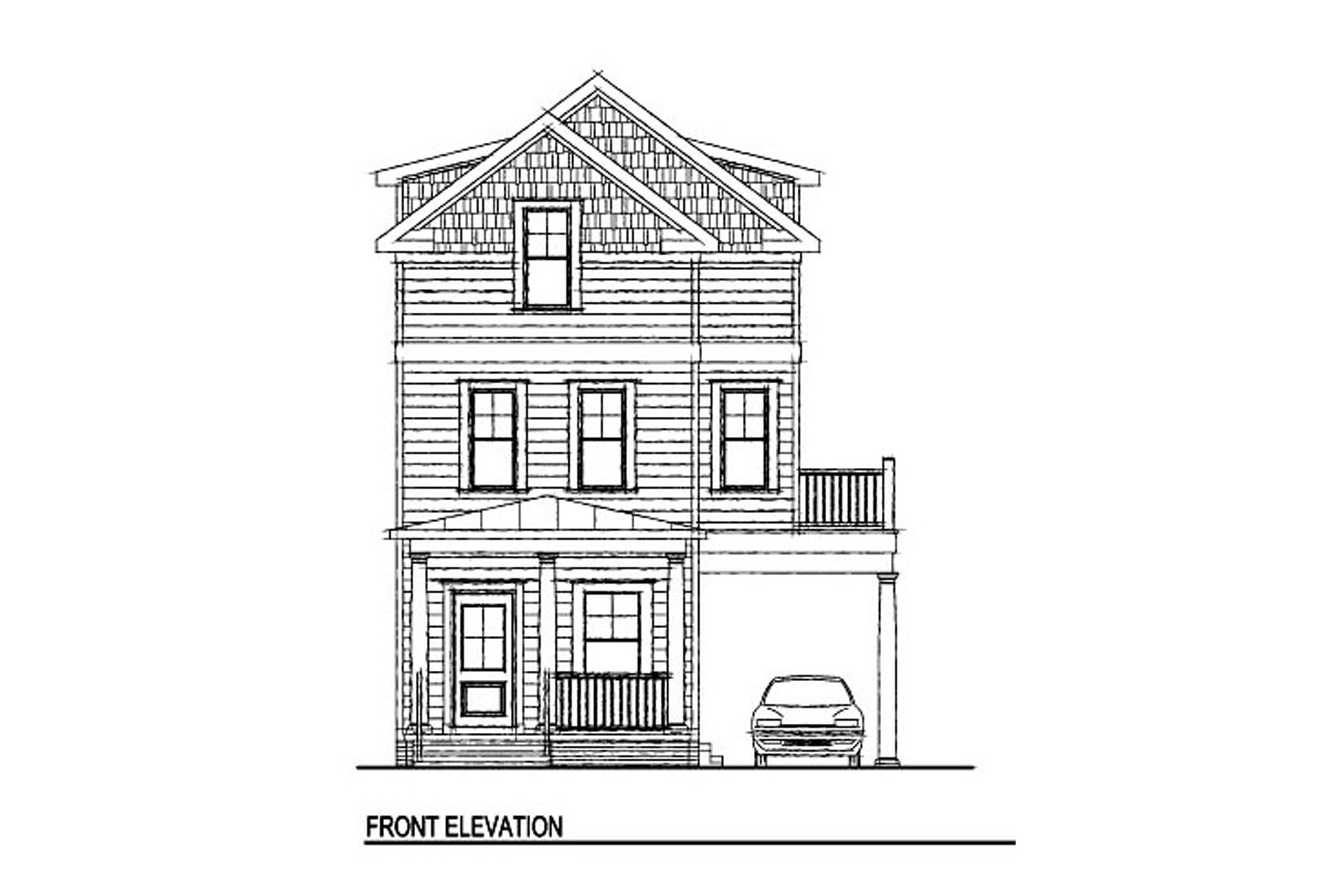 House Plan 230 - Shore Thing